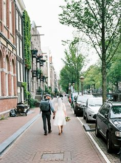 Eloping In Amsterdam