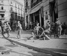 "Teléfonos"", Barcelona 6 d'octubre de 1934. Autor: Albert Oliveras i Folch (AFCEC_OLIVERAS_X_05649)"