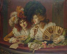 Karl Gampenrieder (1860 - 1930) -At the Opera
