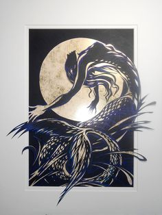 The Mermaid and the Golden Moon
