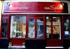 Escaparate Madrid. Vintage maSphere