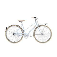 Du suchst ein klassisches, zeitloses Rad dass du jeden Tag mit Freude fahren willst? Dann ist der Caferacer genau das Richtige!   Rahmenhöhe: 55cm Farbe: Sky Blue