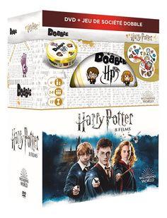 DVD Harry Potter Box 8 films + Dobble