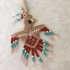 Macrame Necklace, Macrame Jewelry, Diy Jewelry, Crochet Necklace, Macrame Knots, Micro Macrame, Sewing Lessons, Macrame Design, Macrame Projects