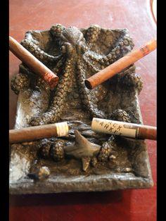 Octopus Cigar Ashtray