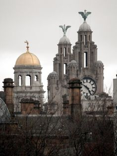 Completely uncropped - this was shot from the Museum steps on William Brown Street with a pocket camera. Albeit one with a ridiculously long zoom! Liverpool History, Liverpool Home, Liverpool England, Most Beautiful Cities, Wonderful Places, Pocket Camera, Southport, Places Ive Been, Britain