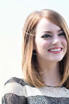 Image result for straight lob haircut