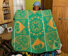 You can't go far in Lesotho without seeing people wrapped in colourful Basotho blankets. So when someone offers you a peek into their secret language, you don't refuse.
