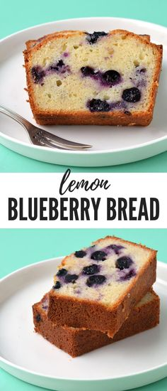Homemade Blueberry Bread perfect for breakfast or morning tea This moist olive oil loaf cake is packed with fresh blueberries and a squeeze of lemon Find the easy recipe. Tea Recipes, Sweet Recipes, Cake Recipes, Dessert Recipes, Breakfast Recipes, Tea Cakes, Food Cakes, Baby Bump Cakes, Cake Baby