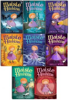 Maisie Hitchins Series Collection of 8 Books by Holly Webb #Maisie #MasieHitchins #Book #ChildrensBook #HollyWebb  http://www.snazal.com/holly-webb-maisie-hitchins-series-collection-8-books-set--DEALMAN-U5-MaisieHitchins-8bks.html