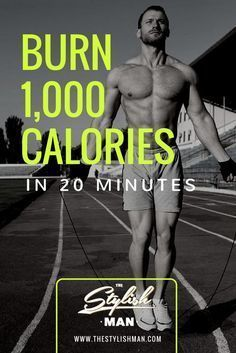 Burn Calories in 20 Minutes - Killer Workout quick diet 1000 calories Fitness Workouts, Fitness Motivation, Sport Fitness, At Home Workouts, Health Fitness, Hiit Workouts For Men, Mens Fitness, Interval Training Workouts, Fitness Diet
