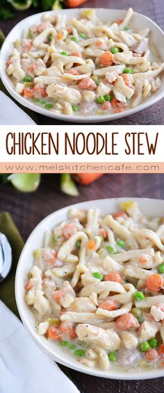 This stew is like chicken noodle soup but thicker, richer and magnificently more noodly.