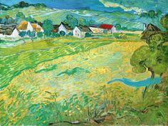 Vincent van Gogh. Sunny Meadow in Arles, 1890