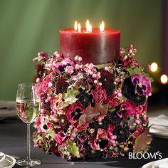 Runder Kerzenständer