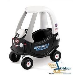 car for kids ride on toys cozy coupe tikes patrol black baby toddler police role