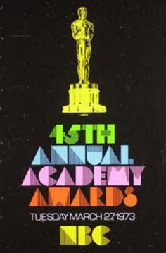 1973 The 45th Annual Academy Awards