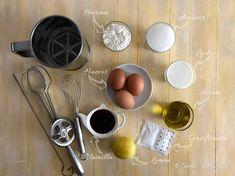 Coca de Llanda   Mise en Place Measuring Spoons, Coco, Tableware, Vanilla, Afternoon Snacks, Eggs, Mise En Place, Dinnerware, Tablewares