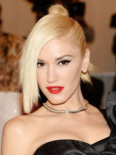 Met Ball Top 10: Gwen Stefani http://beautyeditor.ca/2013/05/09/10-celebs-who-pulled-off-the-met-balls-punk-theme-and-brought-us-some-fresh-new-beauty-inspiration/