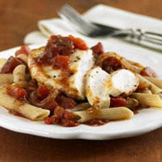 Chicken with Balsamic Tomatoes
