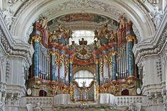 Órgano de la Stiftsbasilika Waldsassen