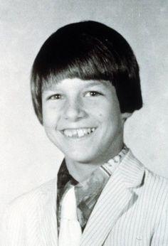 Tom Cruise as a boy.