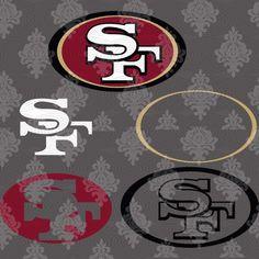 NFL San Francisco 49ers schwarz New Era ESTABLISHED Shirt