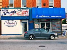 Attman's Deli, Baltimore MD.  Best Jewish food ever!!