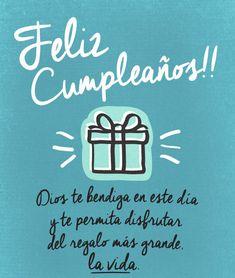 felicitacion cumpleaños con dedicatoria