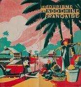 Le Tourisme en Indochine Francaise Original Travel Brochure French Indichine Vietnam