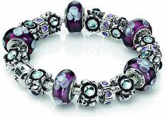 O charme das pulseiras Pandora