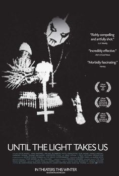 Until the Light Takes Us 27x40 Movie Poster (2008)