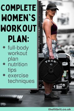 Full Body Workout Plan For Women - A Complete Guide - The Fit Brit