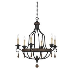 FREE SHIPPING! Shop Joss & Main for your Dresden 9-Light Chandelier. Expertly-crafted, shapely structures, pair well with a rustic durango finish in the Kelsey collection of chandeliers and pendants by Savoy House.