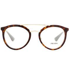PRADA Tortoiseshell glasses. #prada #glasses
