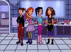 cartoons memes The Fashion Club in the - Cartoon Icons, Cartoon Memes, A Cartoon, Daria Morgendorffer, Daria Mtv, Cute Friends, 90s Kids, Cool Cartoons, Comic Character