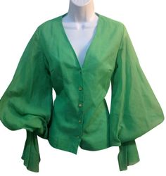 Lime Vintage Top. Free shipping and guaranteed authenticity on Lime Vintage Top
