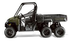 2014 Polaris RANGER 6x6 Sage Green Side by Side UTV : Features