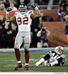 Michael Strahan - 2001 NFL Defensive Player of the Year, 7-Time Pro Bowler, 4-Time First-Team All-Pro, 5th All-Time Leader in Sacks