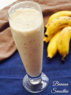 Bananas are among the first fruits introduced to baby. Add some variety to your baby's menu with these 25 Banana Recipes for Babies under one year. Healthy Toddler Meals, Healthy Eating For Kids, Healthy Drinks, Kids Meals, Toddler Food, Healthy Recipes, Milkshake Recipes, Banana Milkshake, Smoothie Recipes