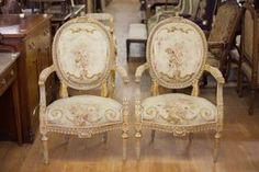 RESERVED Amazing 1875 Pair of Antique French Floral Aubusson