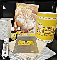 Ganz einfach und schnell selber zuhause käse machen. Lab, Starter Set, Yogurt, Products, Ad Home, Recipies, Labs, Labradors