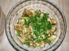 "eggplant salad - ""melitzanosalata"" Eggplant Salad, Palak Paneer, My Recipes, Ethnic Recipes, Food, Meals"