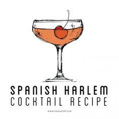 Spanish Harlem Cocktail Recipe