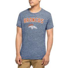 Denver Broncos '47 Tri-Blend State T-Shirt - Navy