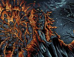 """Check out new work on my @Behance portfolio: """"Moon of Death - Poster for Werewolf, Thrash Metal"""" http://be.net/gallery/48903783/Moon-of-Death-Poster-for-Werewolf-Thrash-Metal"""