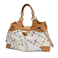 Louis Vuitton Ursula Monogram Multicolor Handle bags White Canvas M40123