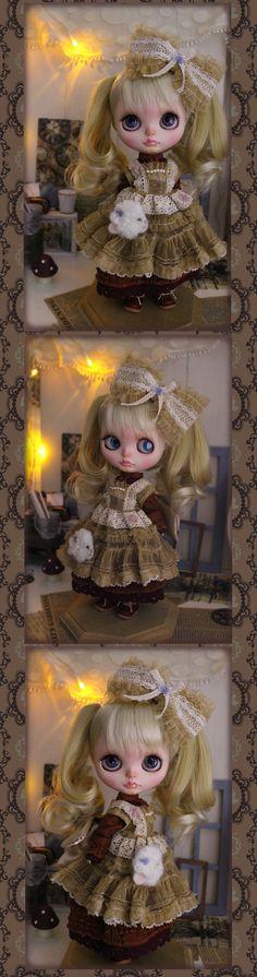 §§~ fairy Doll~§§ □ 商品詳細 □ 沢山の中からご覧いただきましてありがとうございます。長い説明になってしまいますが、トラブル防止のために最後までお付き合いくださいますよう宜しくお願いします。[簡単取引き]を利用しております。お手数ですがオークション終了後、落札者様からお取引を開始してください。最初のご連絡を、24時間以内にお願い致します。ご不明な点がございましたらお気軽に質問欄よりご質問ください。ネオブライス用お洋服です。 お譲りする物は ・エンジ色のフリルワンピース(マジックテープ留