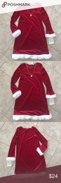 Bonnie Jeans Christmas Dress Size 16 NWT Bonnie Jean. NWT Bonnie Jean Dresses Casual