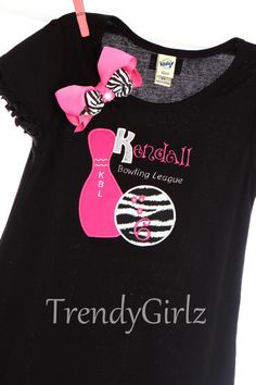 Bowling Birthday Party dress, Exclusively TrendyGirlz