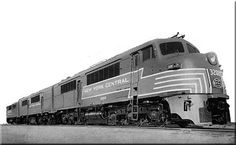 (DR-6-4-1500).  N.Y.C. #3200.    (AAR) A1A-A1A, 1500 H.P. Built 1947-48.  Last passenger design Baldwin ever offered,